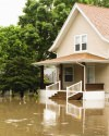 Illinois & Wisconsin flooding in a Deerfield home in need of disaster restoration services, including water removal